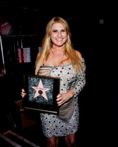 Lisa Panagos wins F.A.M.E Award for 'Female Rising Star""
